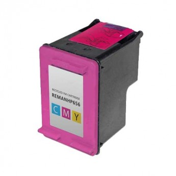 HP 901 Color (CC656AN) Remanufactured Ink Cartridge - Carrotink
