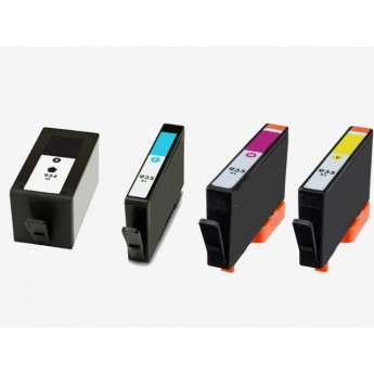 HP 934XL and 935XL Combo 4-Pack Remanufactured High Yield Ink Cartridges