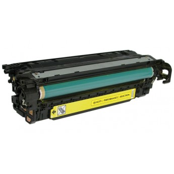 HP 504A (CE252A) Yellow Remanufactured Laser Toner Cartridge
