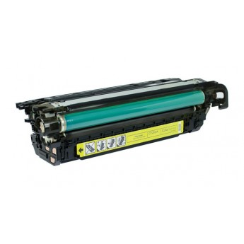 HP CE262A (HP 647A) Laser Toner Cartridge - Yellow - Remanufactured