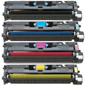 HP 122A Remanufactured Laser Toner Cartridges 4-Pack