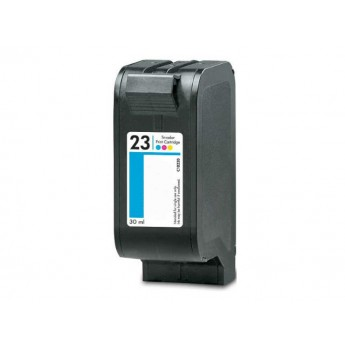 HP 23 (C1823D) Remanufactured Ink Cartridge - Color