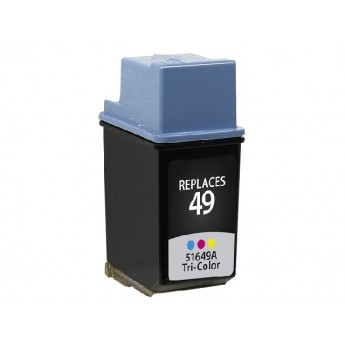 HP 49 (51649A) Remanufactured Ink Cartridge - Color