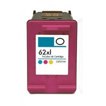 HP C2P07AN (HP 62XL) HY Color Remanufactured Ink Cartridge