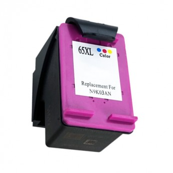 HP 65XL (N9K03AN) High-Yield Color Remanufactured Ink Cartridge