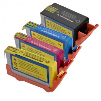 HP 902XL High-Yield Remanufactured Ink Cartridge 4-Pack