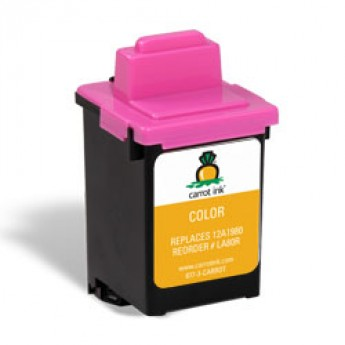 Lexmark 80 (12A1980) Remanufactured Ink Cartridge - Color