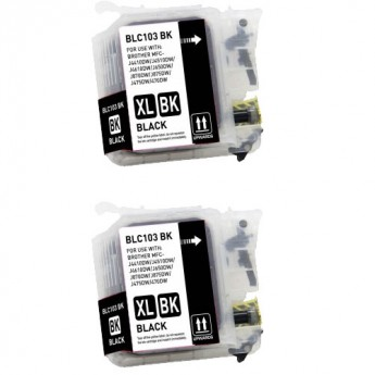 LC103 Black Twin Pack Carrotink