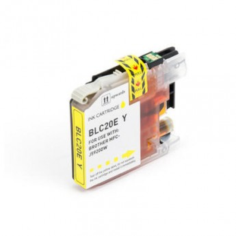 Brother LC20EY Yellow Extra High Yield Compatible Ink Cartridge