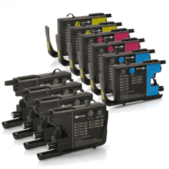 Brother LC75  Ink Cartridge Combo Pack