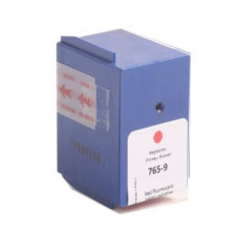 Pitney Bowes 765-9 (765-9) Remanufactured Ink Cartridge - Red