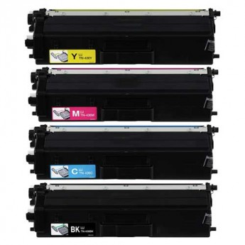 Brother TN436 Super High-Yield Compatible 4-Pack Carrotink