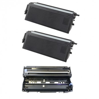 Brother TN460 and DR400 Compatible Toner & Drum Combo
