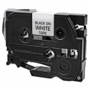 Brother TZe-211 (TZ211) Black on White Compatible P-Touch Label Tape